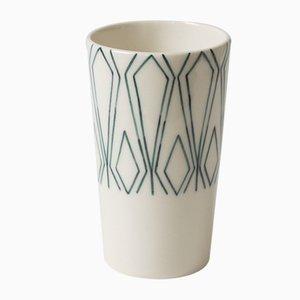 Tasse Mundane Geometry par Mãdãlina Teler pour De Ceramică