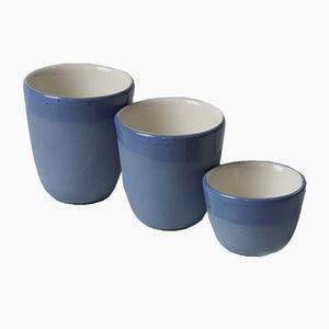 Sand Series Cups by Mãdãlina Teler for De Ceramică, Set of 3