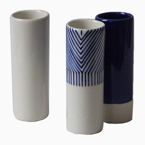 Vasi piccoli Little by Little di Mãdãlina Teler di De Ceramică, set di 3