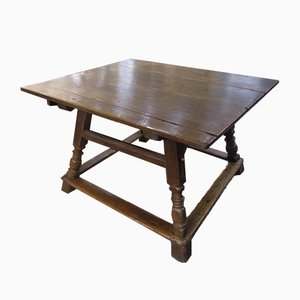 18th Century Swiss Alpine Farm Table