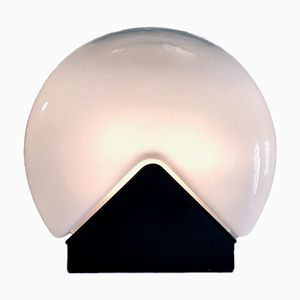 Murano Glass Lamp by Roberto Pamio for Leucos, 1970s