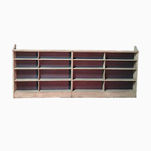 Antique Open Bookshelves