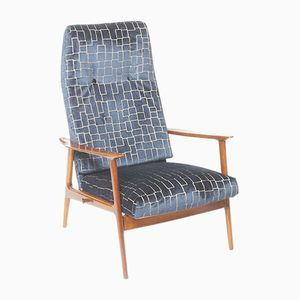 Mid-Century Danish Reclining Lounge Chair