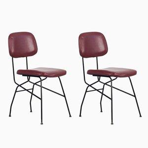 Cocorita Stühle von Gastone Rinaldi für Velca, 1950er, 2er Set