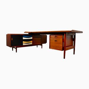 Vintage Schreibtisch von Arne Vodder für Sibast, 1950er