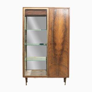 Mid-Century Italian Bronze Bar Cabinet, 1960s