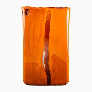 Jarrón de cristal del Murano de Toni Zuccheri, años 60