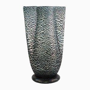 Italienische Vintage Barbarico Vase aus Muranoglas von Ercole Barovier für Barovier & Toso, 1950er