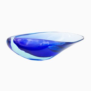 Murano Seashell Dish by Flavio Poli for Seguso, 1950s