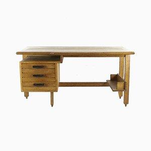 Schreibtisch von Guillerme et Chambron für Votre Maison, 1950er