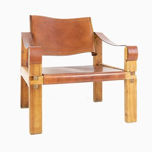 French Sahara S10 Armchair by Pierre Chapo, 1960s