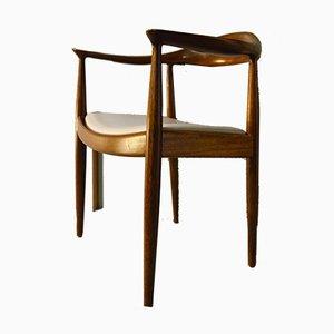 Round Chair von Hans J. Wegner für PP Møbler, 1950er