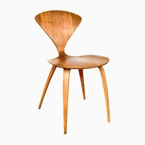 Mid-Century Beistellstuhl aus Schichtholz von Norman Cherner für Plycraft