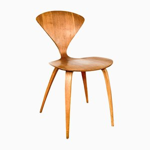 Mid-Century Plywood Side Chair by Norman Cherner for Plycraft