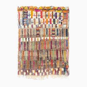 Vintage Moroccan Boujad Wool Rug