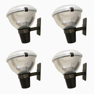 Mid-Century Model LP6 Wall Lights by Ignazio Gardella, Set of 4