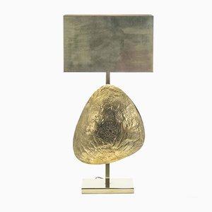Große skulpturale Lampe von Willy Daro, 1970er