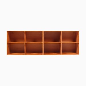 Wall Mounted Bookcases by Mogens Koch for Rud. Rasmussen, 1950s, Set of 2
