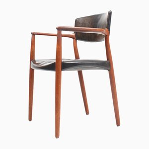 Side Chair by Ejnar Larsen & Aksel Bender Madsen for Willy Beck, 1950s