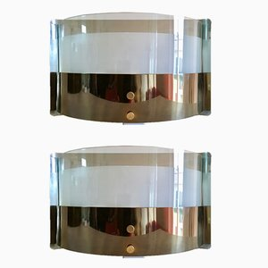 Monaco Sconces by Luigi Caccia Dominioni, 1979, Set of 2