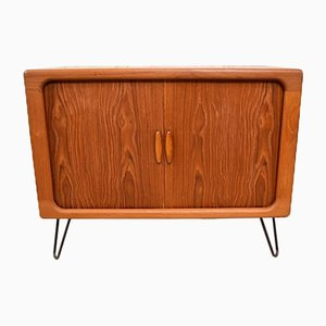 Small Vintage Danish Sideboard with Hairpin Legs from Dyrlund, 1960s