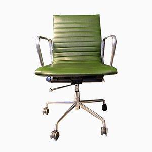 Chaise Vintage en Aluminium par Charles & Ray Eames pour The Aluminium Group, 1958