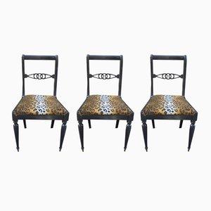 Vintage Esszimmerstühle, 3er Set