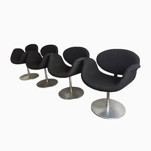 F163 Little Tulip Chairs by Pierre Paulin for Artifort, 1990s, Set of 4