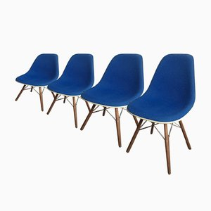 DSW Chairs by Charles & Ray Eames for Herman Miller, 1990s, Set of 4