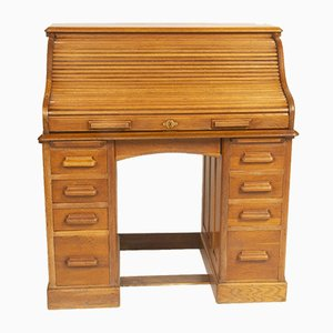 Vintage Roll Top Desk from Popham Radford & Co.