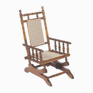 Rocking Chair pour Enfant Antique
