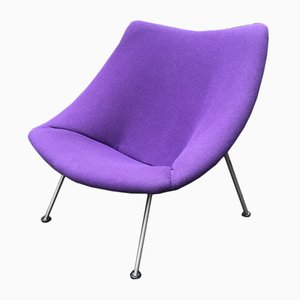 F157 Oyster Chair by Pierre Paulin for Artifort, 1970s