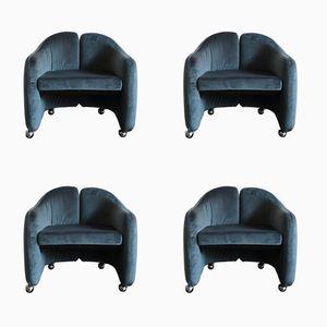 Italienische Stühle von Eugenio Gerli für Tecno, 1960er, 4er Set