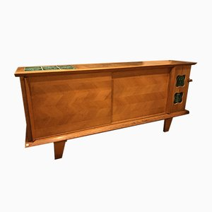 Sideboard by Guillerme et Chambron, 1960s