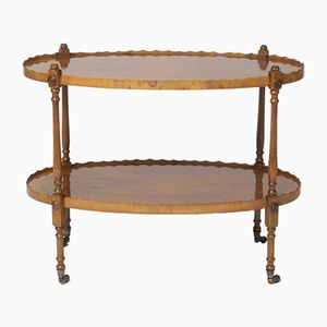 Antique Oval Elm Trolley