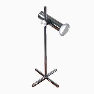 Lampada da tavolo cromata, anni '60