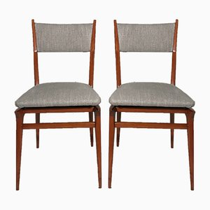 Italian Dining Chairs, 1950s, Set of 2