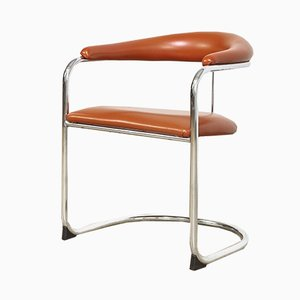 Mid-Century Model SS33 Cantilever Chairs by Anton Lorenz for Thonet, Set of 2