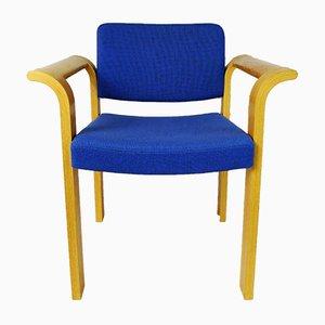 Blauer Sessel von Thygesen & Sørensen für Magnus Olesen, 1970er