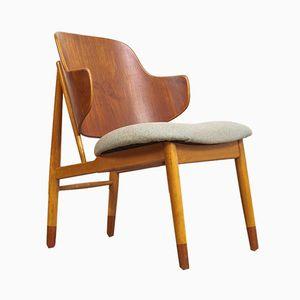Dänische Mid-Century Penguin Stühle von Ib Kofod-Larsen, 2er Set