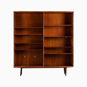 Vintage Danish Rosewood Bookcase from Hundevad & Co, 1960s