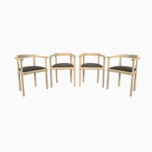 Danish Chairs by Johannes Nørgaard, 1970s, Set of 4