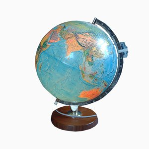 Vintage Globe with Internal Lighting from Scan-Globe, 1973