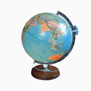 Vintage Globus mit Innenbeleuchtung von Scan-Globe, 1973