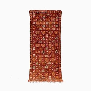 Vintage Moroccan Boujad Floor Rug