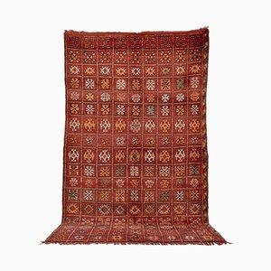 Vintage Moroccan Boujad Wool Carpet