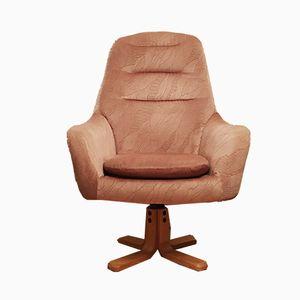 Czech Egg Swivel Lounge Chair, 1960s