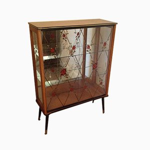Glass Display Cabinet, 1950s