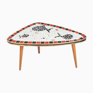 Tavolino Mid-Century con mosaico, Germania, anni '60