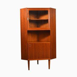 Danish Corner Cabinet, 1960s